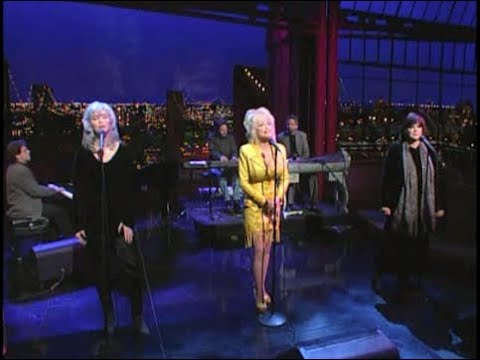 Harris, Parton, Ronstadt on Late Show, March 24, 1999 (full, stereo)