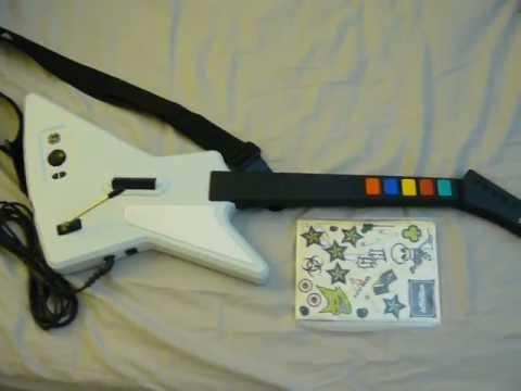 hqdefault guitar hero xbox 360 xplorer wired controller (used) youtube guitar hero guitar wiring diagram at fashall.co