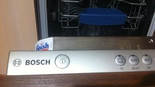Video instructions for installing Bosch Built in Dishwashers