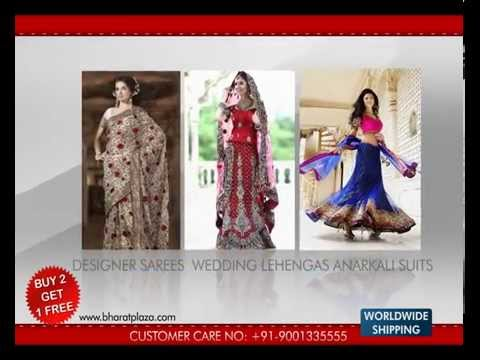 Eid Sale - TV Commercial Ad (Zee TV) Ethnic Clothing Saree, Sherwani, Mens Suit - Bharat Plaza
