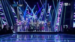 [LIVE 繁中字] 120105 T-ara - Lovey-Dovey @ Comeback Stage