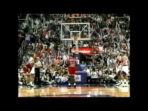 1993 NBA Finals - Chicago vs Phoenix - Game 6 Best Plays