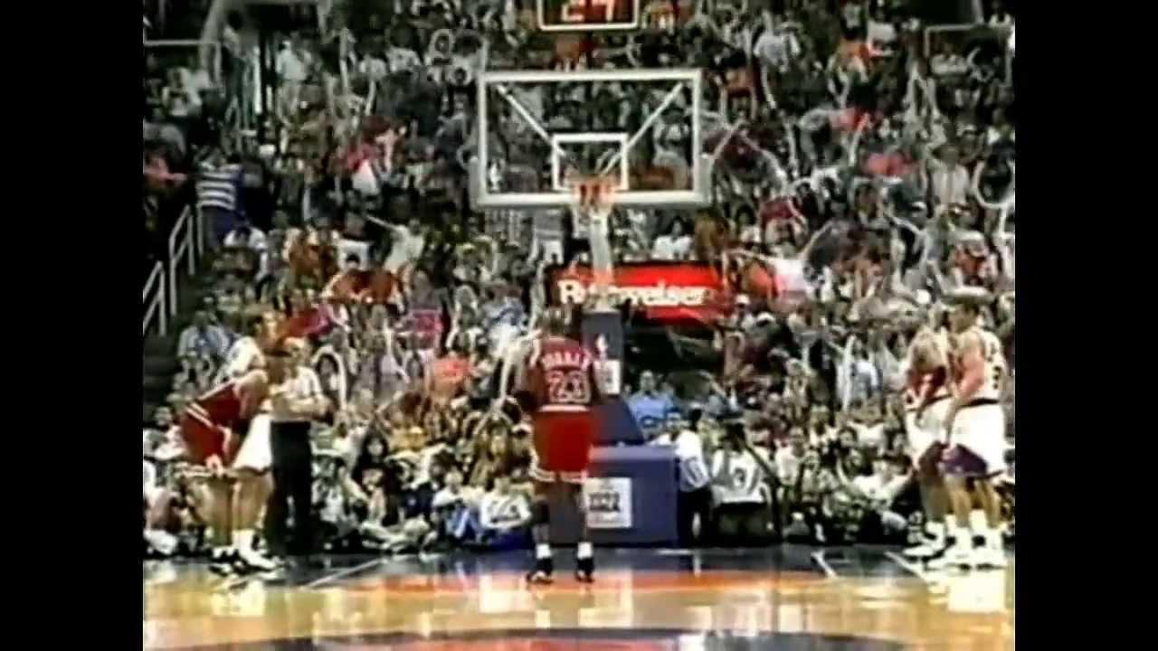 1993 NBA Finals - Chicago vs Phoenix - Game 6 Best Plays - YouTube