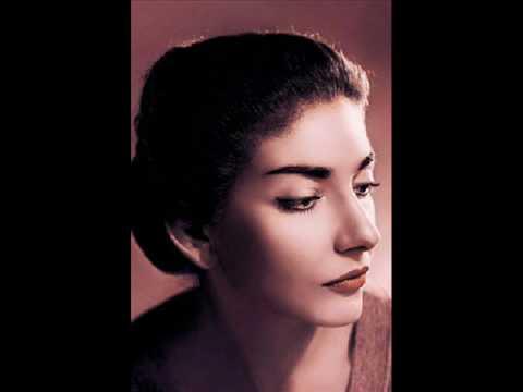 Maria Callas La Bohème Sì. Mi chiamano Mimì