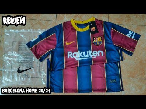 Leaked Review Barcelona Home Jersey 2021 Jerseybarcelona2021 Barcelonajersey2021 Youtube