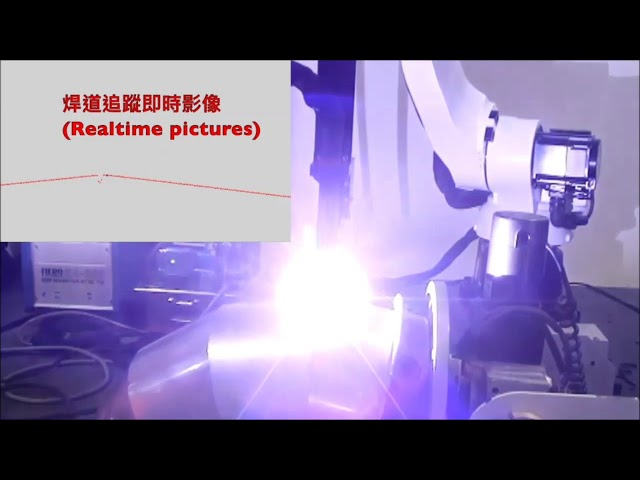 Robot Weld Seam Tracking with QuellTech Laser Scanner - Solution Made by Quadrep Electronics