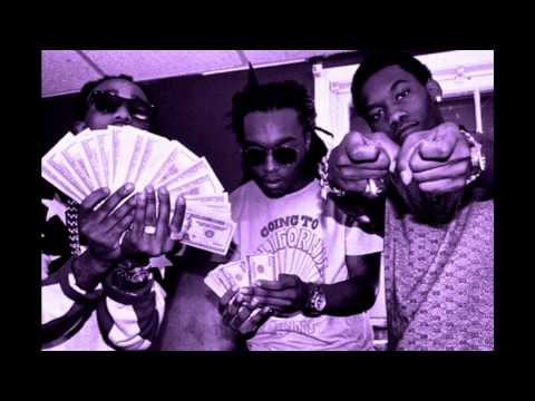 Migos - Young Rich Niggas (Chopped Not Slopped)