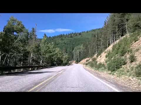 Driving From Santa Fe to the Ski Area