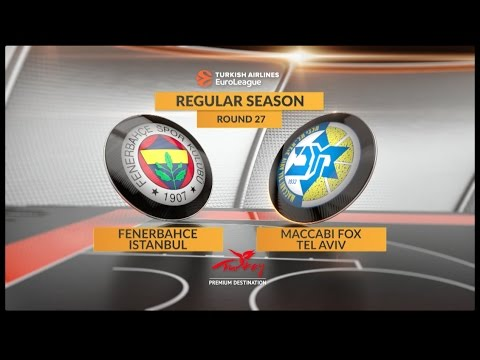 Highlights: Fenerbahce Istanbul-Maccabi FOX Tel Aviv