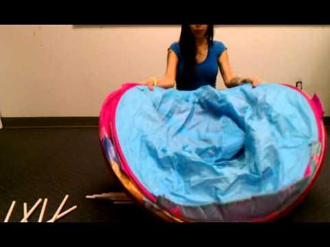 How To Fold Playhut Ez Twist Let S Play Princess Castle