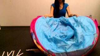 How To Fold Playhut Ez Twist Let's Play Princess Castle