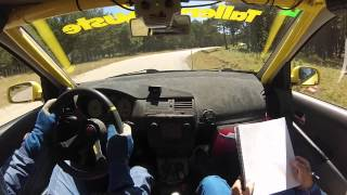 Rallysprint Navaleno Canicosa 2015 Agustin Alvaro / Adrian Gómez Seat ibiza 1.8t