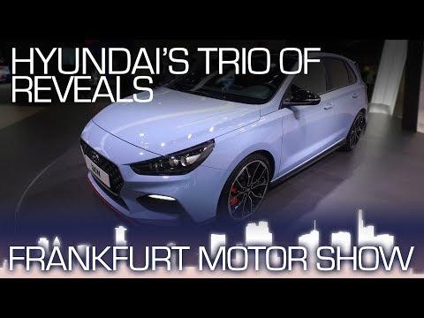 Hyundai i30 N, i30 Fastback, Kona Sporty, Upscale Versatile Frankfurt Motor Show 2017