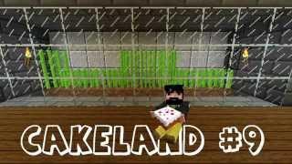СakeLand #09. Авто ферма тростника (Minecraft)