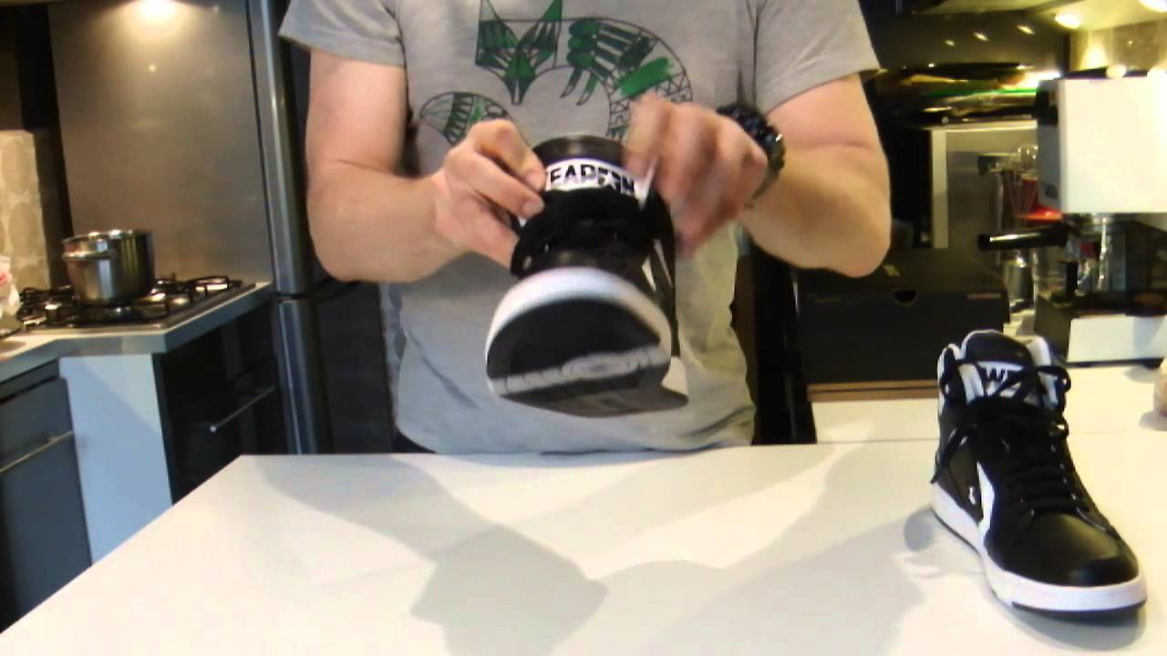 31364f9d103 Converse Weapon 86 short review and on feet - YouTube