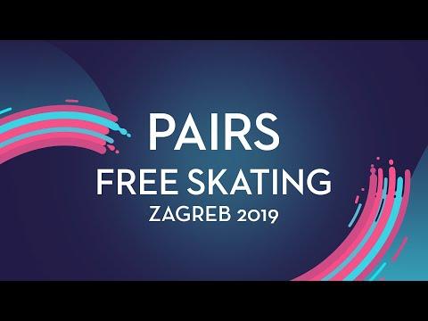 Letizia Roscher / Luis Schuster (GER)   Pairs Free Skating   Zagreb 2019