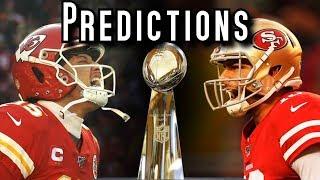 100% Correct Super Bowl 54 Predictions, Chiefs vs. 49ers