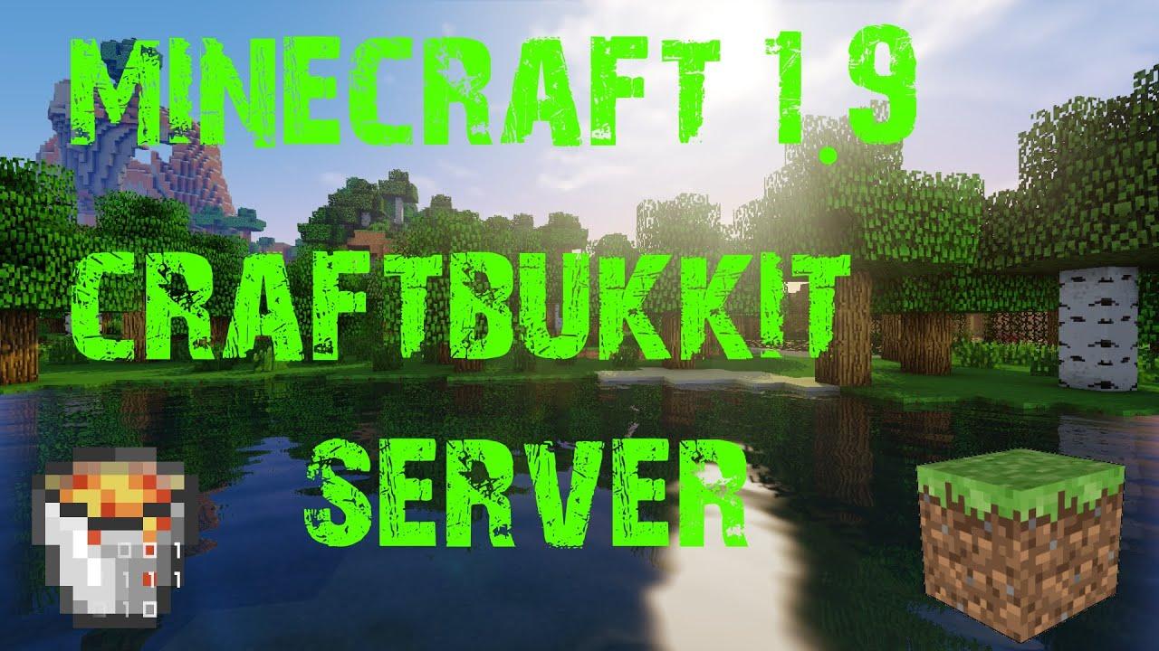 How To: Eigenen Minecraft Bukkit 1.9 Server Erstellen ...