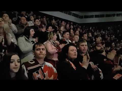 2019-04-08 Pre-game Atmosphere At The 4th Final Game Neman Grodno Vs Yunost'-Minsk