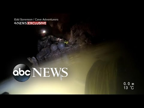 New video shows dramatic moments of Tennessee cave rescue