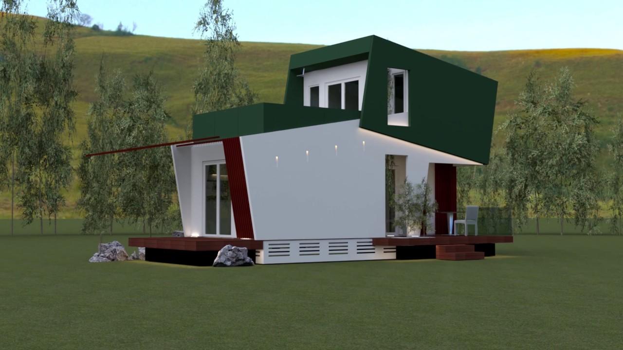 Case A Due Piani linea duplex vpf: casa mobile su due piani