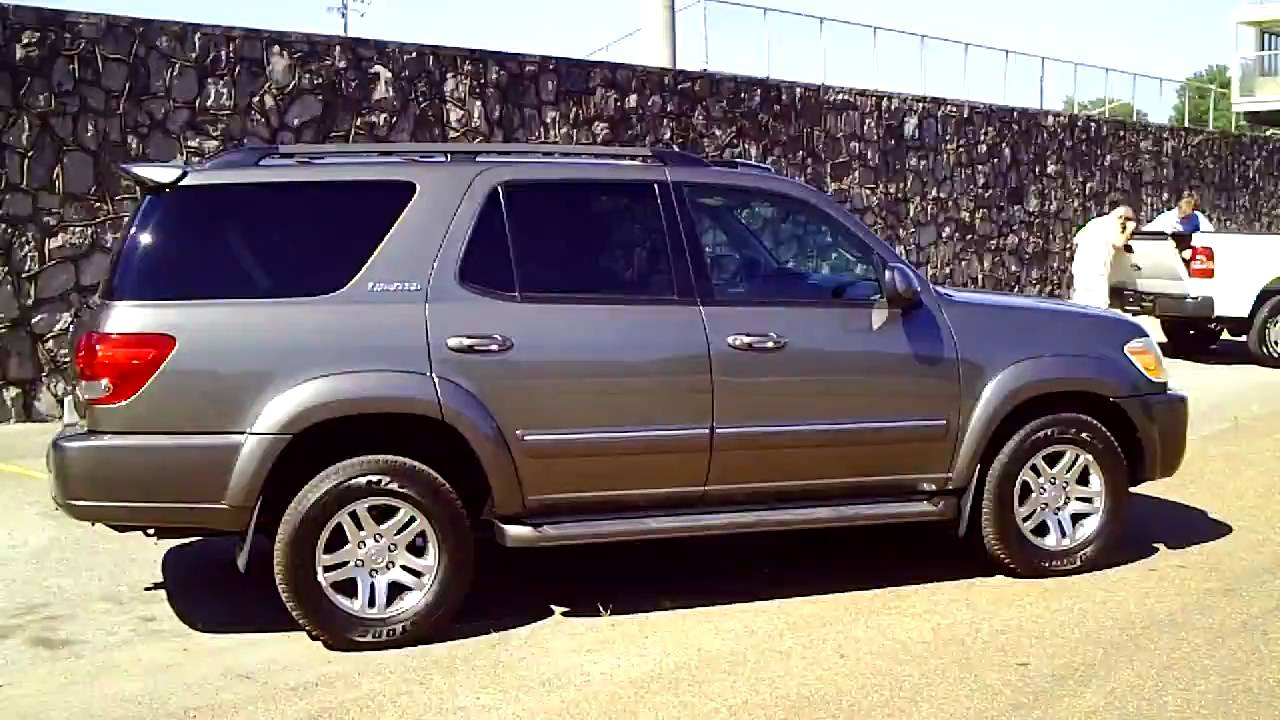 Amazing 2005 Toyota Sequoia