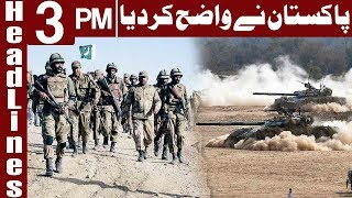 Pakistan Is Ready for War if US Takes any Action - Headlines 3 PM - 10 January 2018 - Express News
