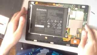 видео Ремонт Lenovo IdeaTab S2109: замена стекла экрана, аккумулятора, корпуса, разъемов |LIFE-IT
