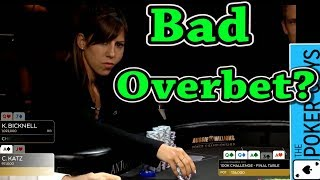 Poker Breakdown: Was this a Bad Overbet?