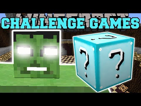 Minecraft: THE HULK CHALLENGE GAMES - Lucky Block Mod - Modded Mini-Game