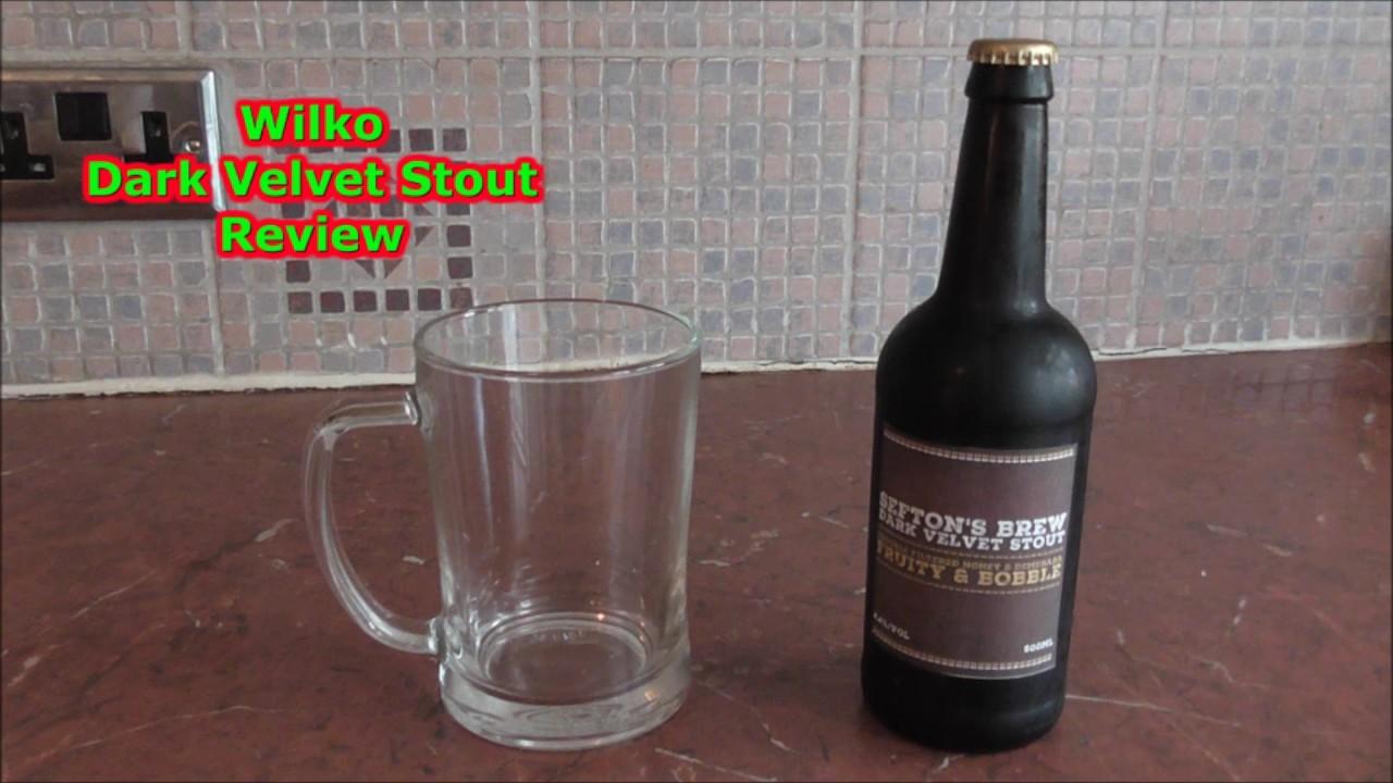 wilko dark velvet stout tasting day part 11 home brew. Black Bedroom Furniture Sets. Home Design Ideas