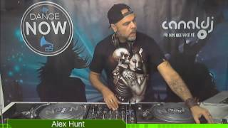 DJ Alex Hunt - Programa Dance Now - 05.01.2016