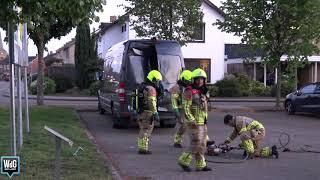 Verdacht busje aangetroffen in Ittervoort