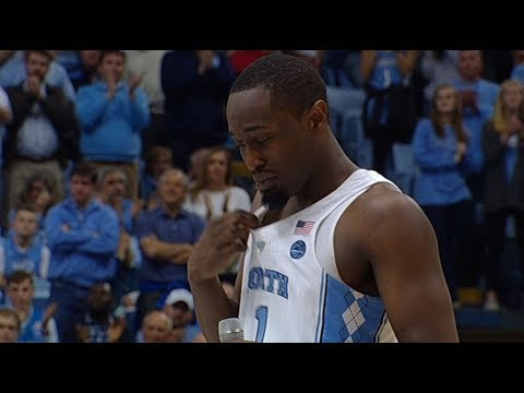 UNC Men's Basketball: Theo Pinson's Senior Speech