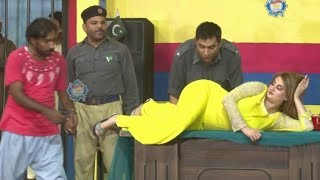 Amjad Rana and Afreen Khan with Nadeem Chitta New Stage Drama 2019 - Full Comedy Clip 2019
