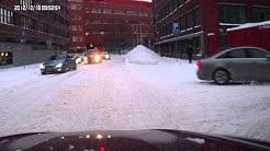 Test 3, in-car video, driving in Helsinki