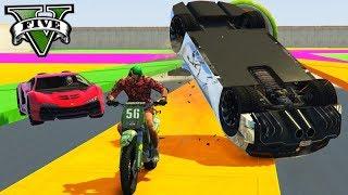 GTA V Online: ZENTORNO vs MOTO SANCHEZ - O PILOTO de FUGA!!!