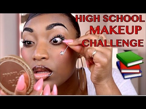 Thumbnail: How I Did My Makeup In High School CHALLENGE!