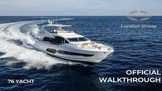 OFFICIAL Sunseeker 76 Yacht Tour