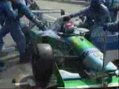 Jos Verstappen pitstop gone wrong German GP 1994