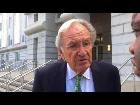 Former U.S. Sen. Tom Harkin talks about testifying in Menendez corruption trial