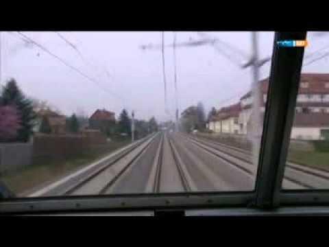 Führerstandsmitfahrt Dresden-Leipzig Teil 2
