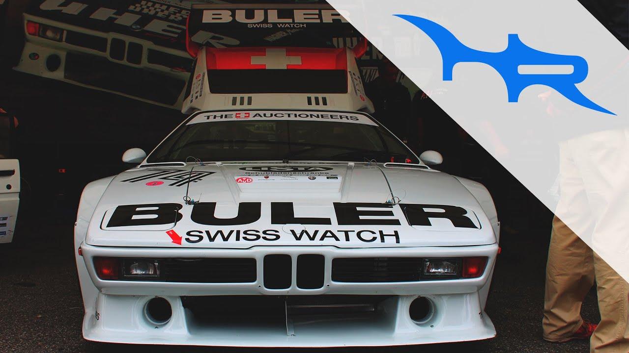 1980 BMW M1 Procar Revving at Nürburgring (Loud & Pure Sound)