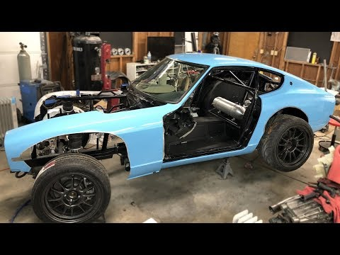 The Wrap Has Begun On The 240z!