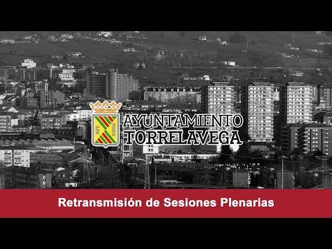 Sesión Plenaria Extraordinaria Ayuntamiento de Torrelavega