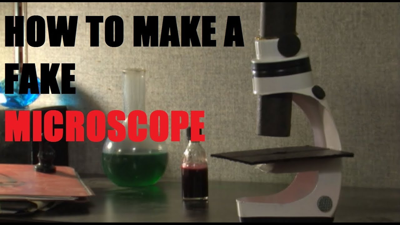 How to build a prop microscope  YouTube