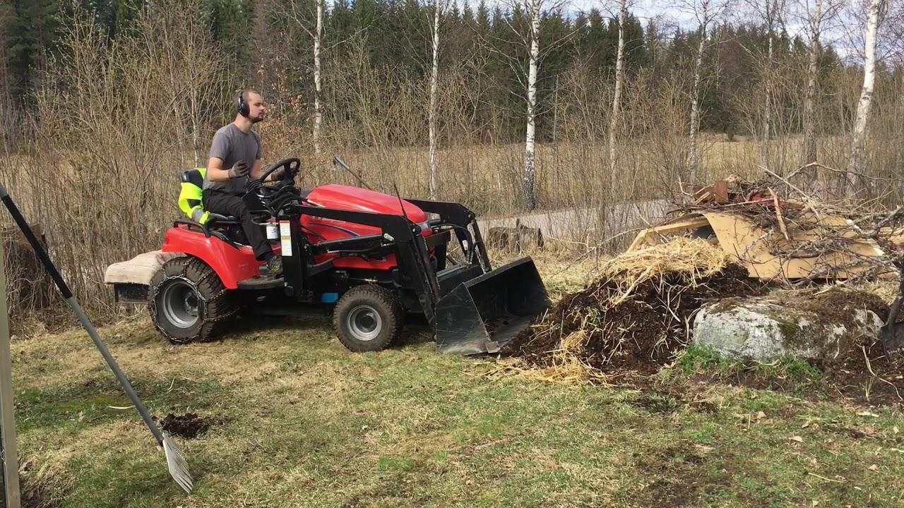 Garden Tractor Loader Work - Nils Kall