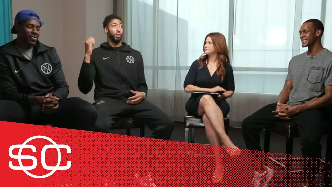 Anthony Davis, Rajon Rondo and Jrue Holiday are ready for Steph Curry's return | SportsCenter | ESPN
