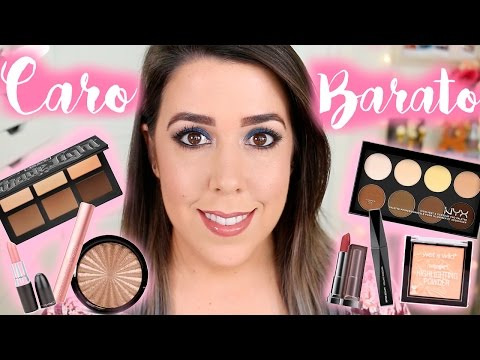 Maquillaje Low Cost vs Maquillaje Alta Gama | CLONES de Maquillaje con Alvaro Kruse from YouTube · Duration:  19 minutes 5 seconds