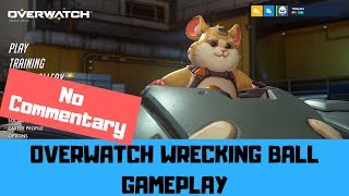 Hammond (Wrecking Ball) - Overwatch No Commentary Gameplay